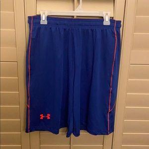 Under Armour heat gear men's shorts size L NWT